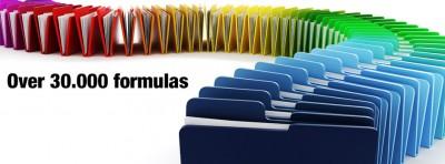 Over 30000 formulas